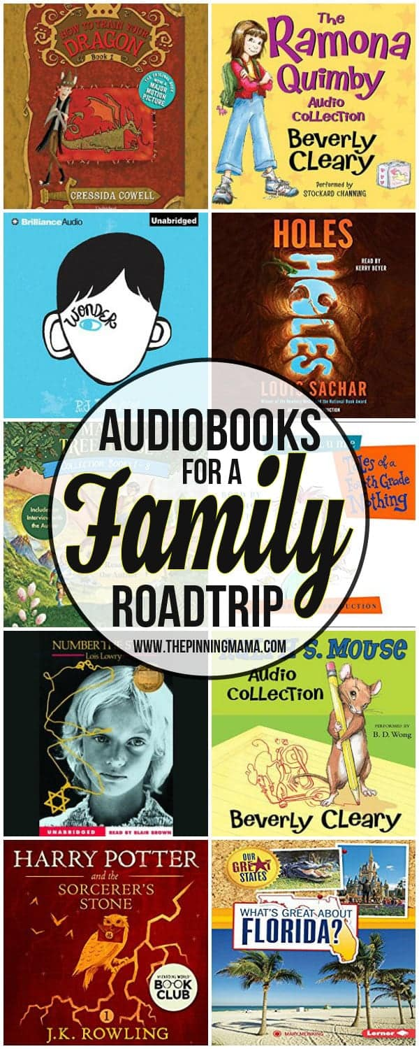 Audiobooks for a Roadtrip with kids