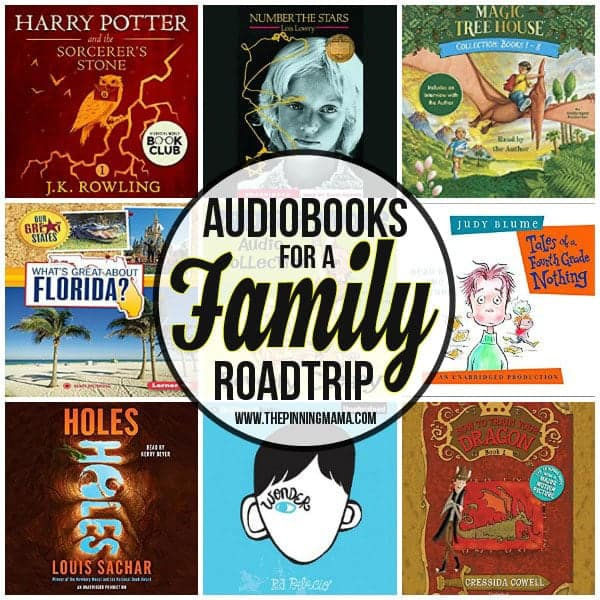 Audiobooks for a family road trip