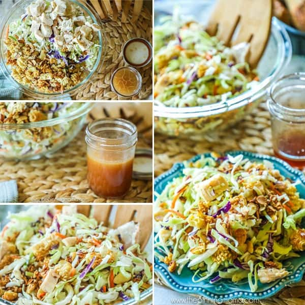 Asian Chopped Chicken Salad Recipe step by step