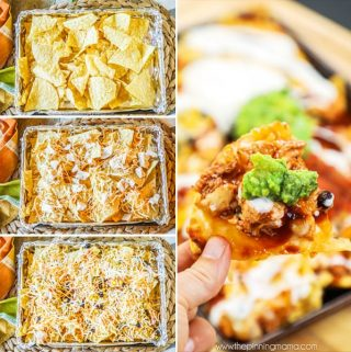 Barbecue Ranch Sheet Pan Nachos Recipe