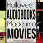 10 Audiobooks turned to Movies {Halloween Edition}