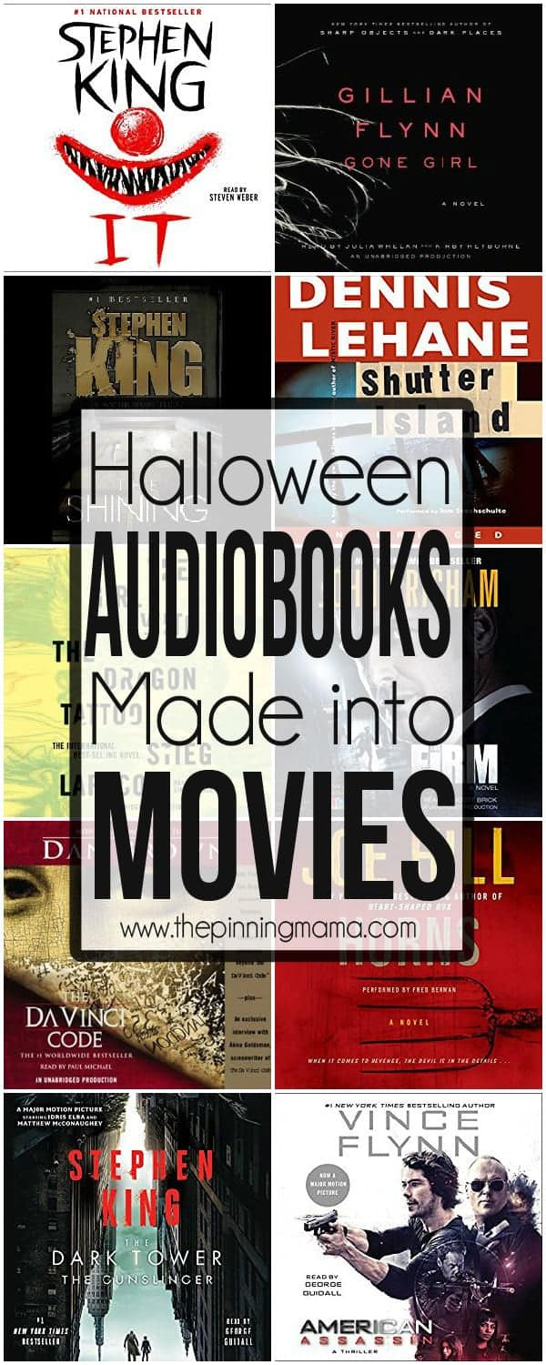 Best Audiobooks for Halloween - a must listen list!