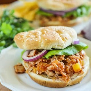 Hawaiian Rotisserie Chicken Sandwich Recipe