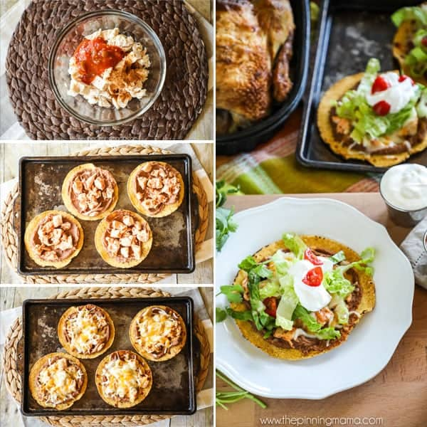 how to make baked tostadas
