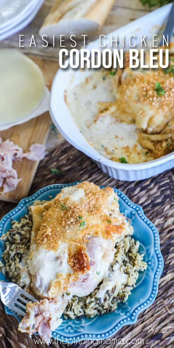 Easy Chicken Cordon Bleu Recipe