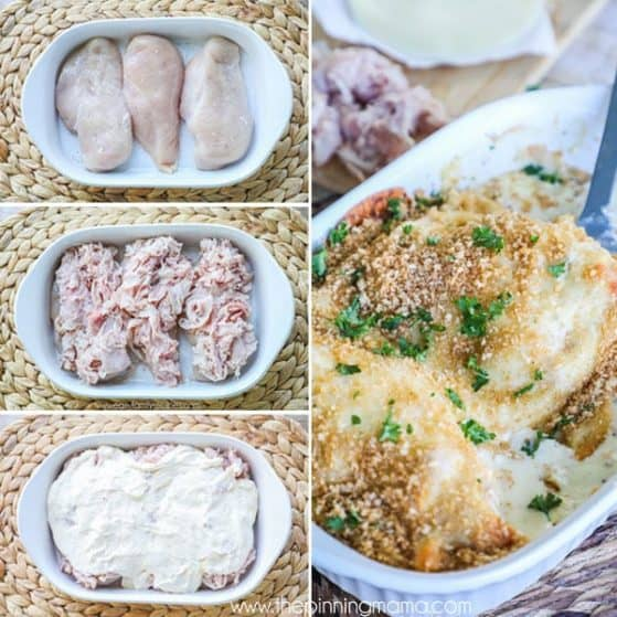 How to make baked chicken cordon bleu