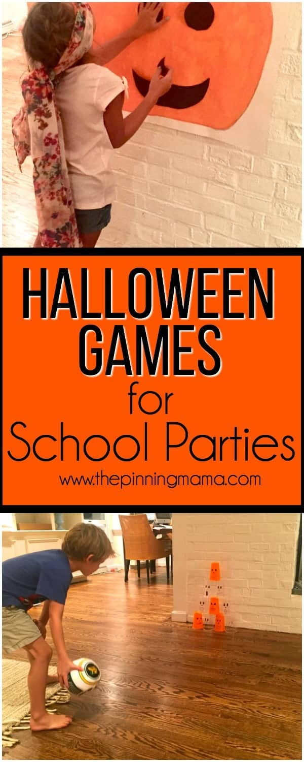 Halloween games for school parties the pinning mama for How to have a great halloween party