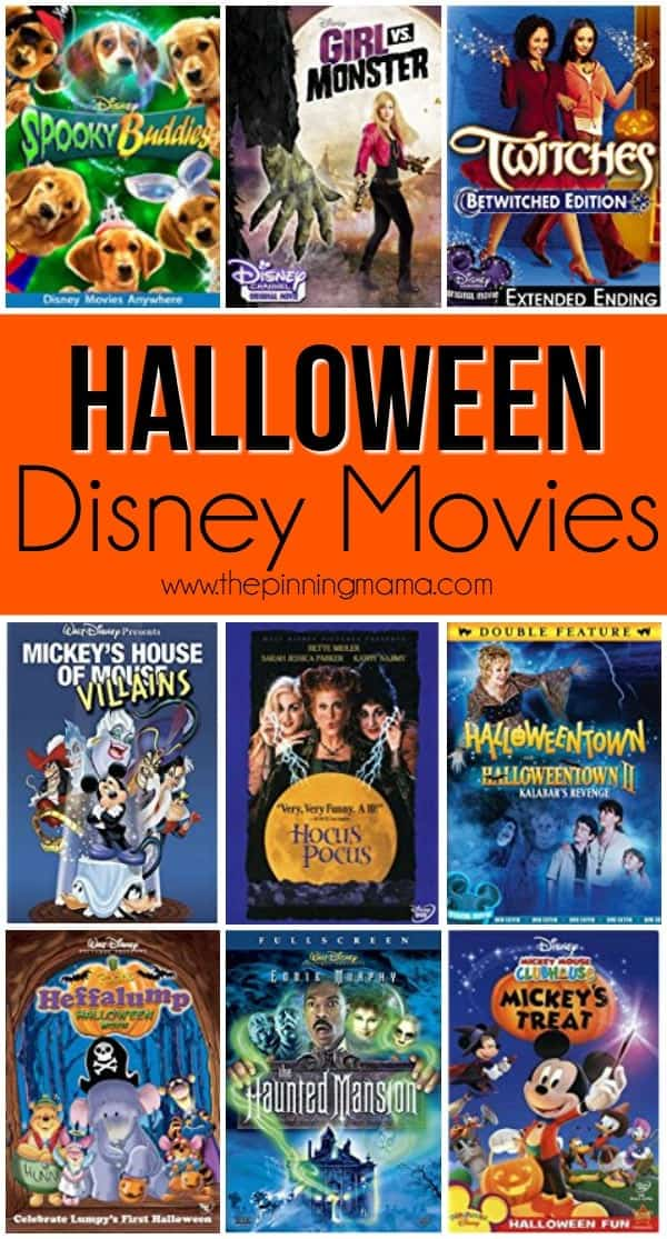 Halloween Disney Movies • The Pinning Mama