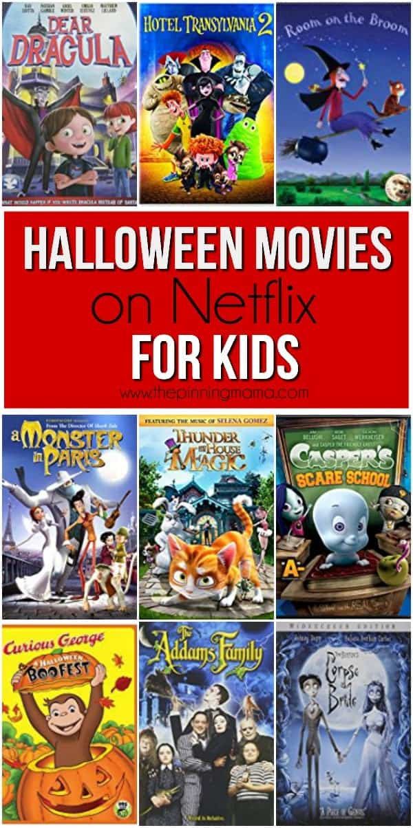 Netflix Halloween Movies for Kids • The Pinning Mama