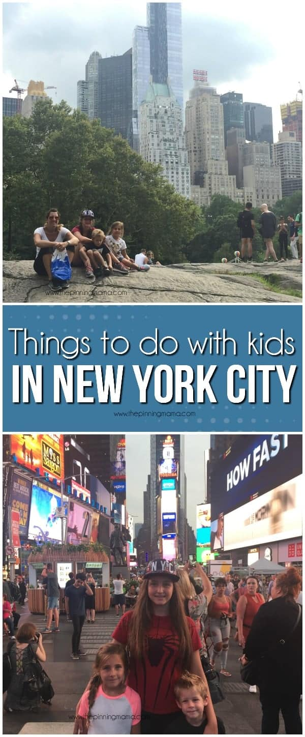 NYC with kids- this is the best thing to do with kids