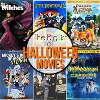 The Big List of Halloween Movies for Kids