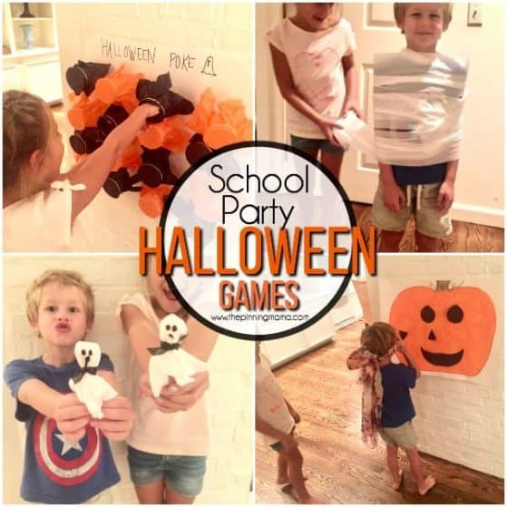 Halloween school party game ideas