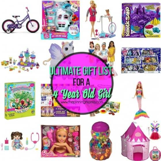 ultimate gifts for a 4 year old girl