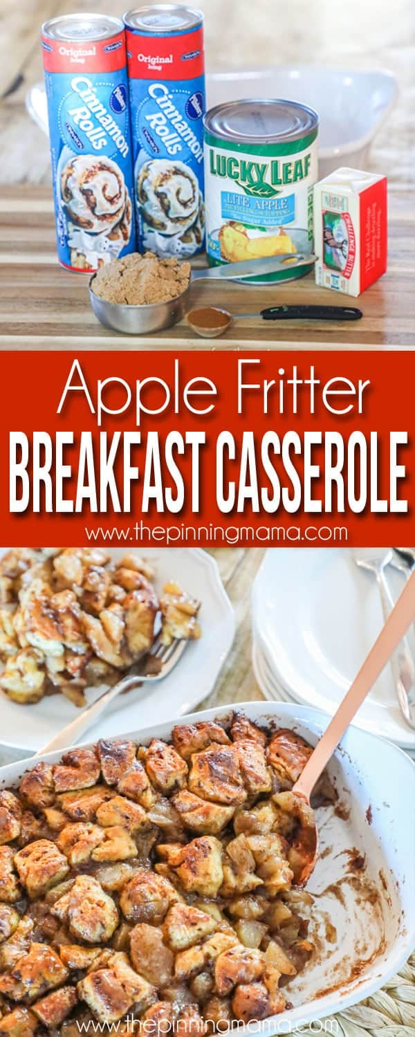 Apple Breakfast Casserole