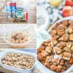 Step by Step instructions apple breakfast casserole