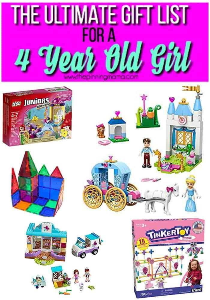 ultimate gifts of building set for a 4 year old girl