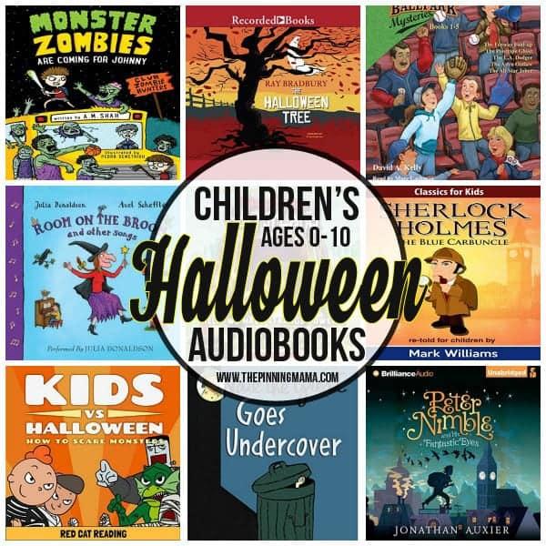 Halloween Audiobooks for Kids