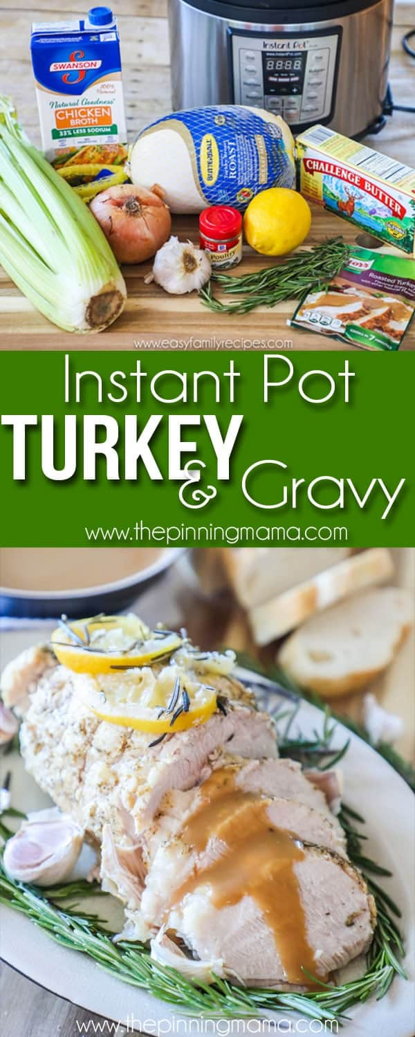 Instant Pot Turkey & Gravy