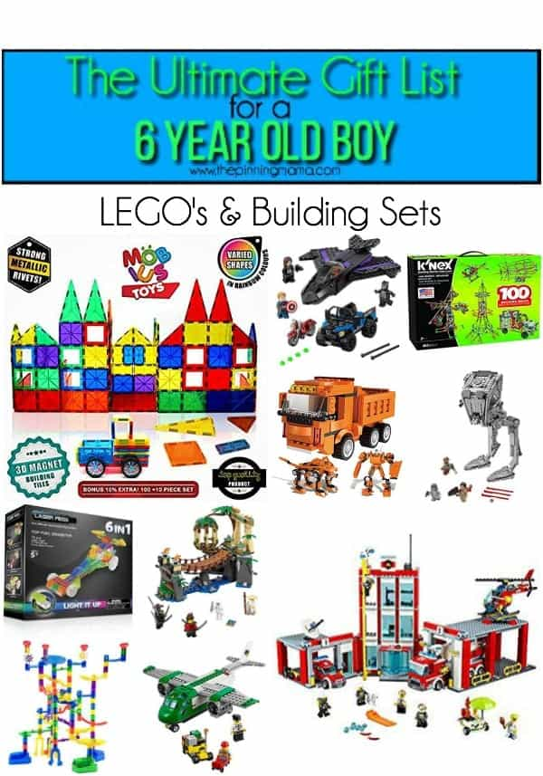 The Ultimate Gift List for a 6 year old Boy • The Pinning Mama