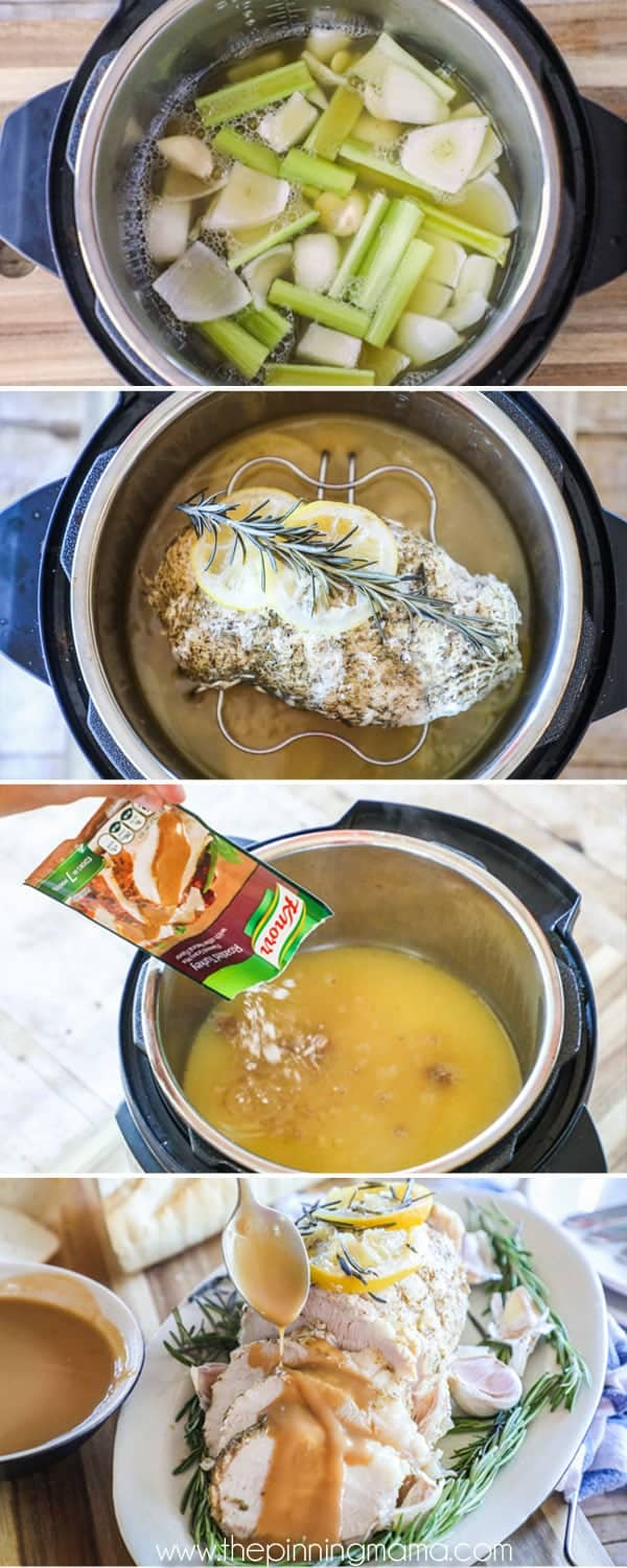 How to Make Turkey in Instant Pot