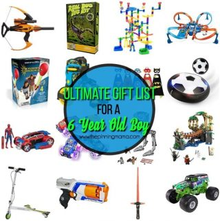 The Ultimate Gift List for a 6 year old Boy