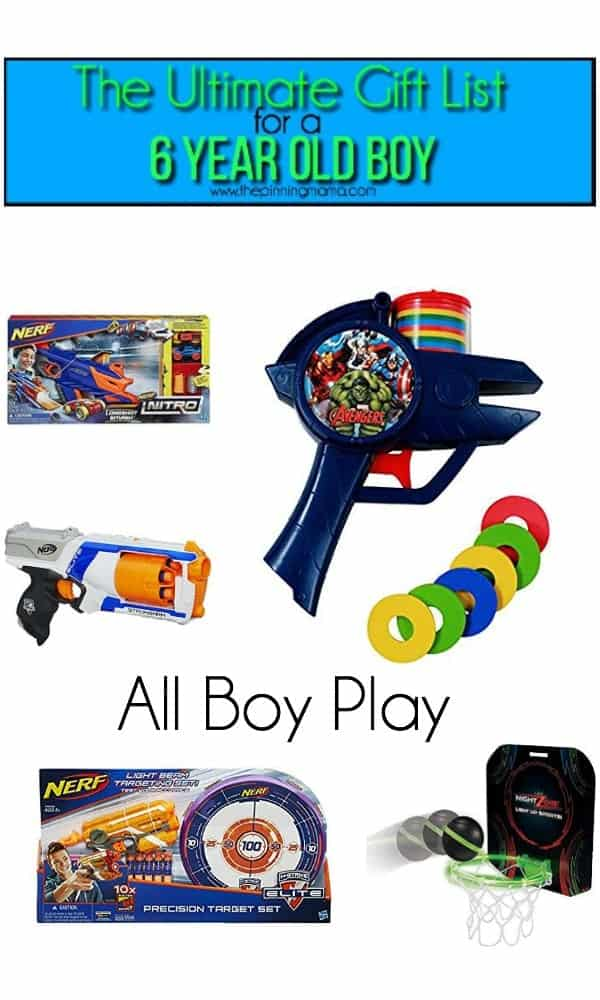 The Ultimate Gift List For A 6 Year Old Boy The Pinning Mama
