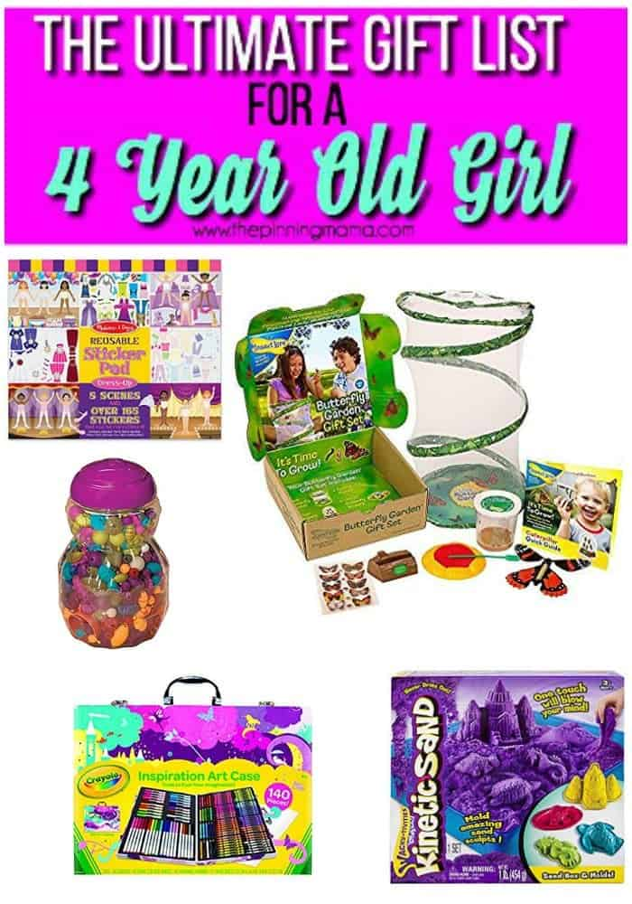great gifts for a 4 year old girl arts and crafts
