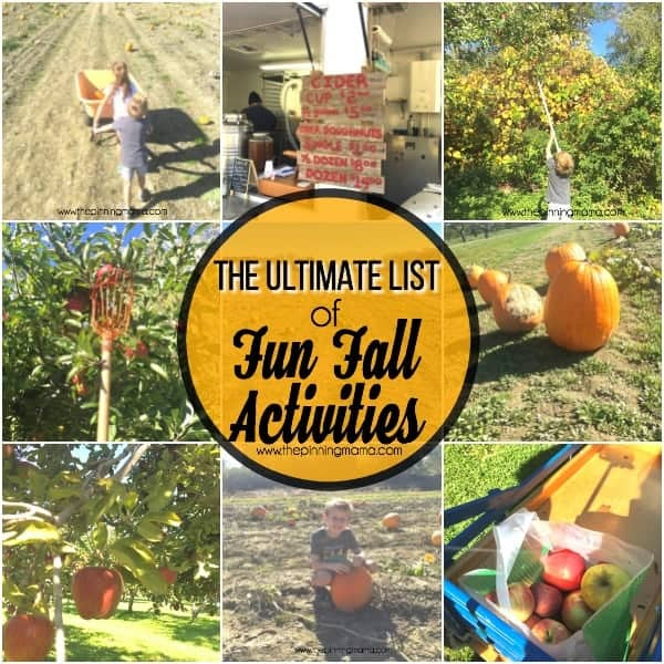 activities for the whole family to enjoy in the fall