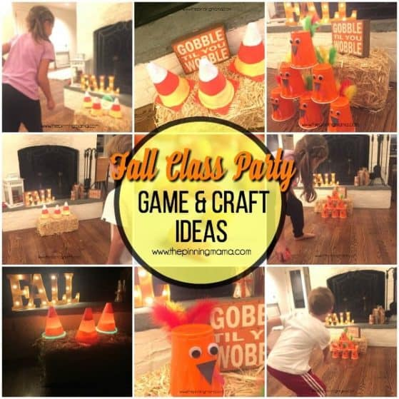 great ideas for a fall class party