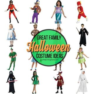 Family Ideas for Halloween Costumes