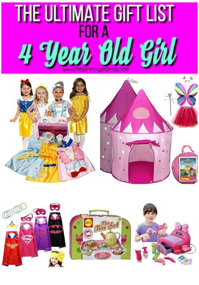Ultimate Gift List Of Pretend Play Items For A 4 Year Old Girl