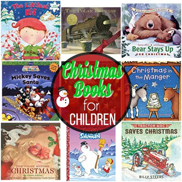 The big list of Christmas books for children to enjoy