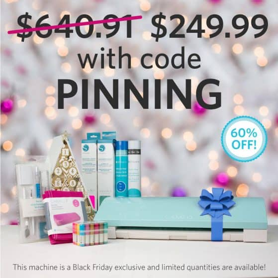 Silhouette CAMEO Black Friday Promo Code PINNING