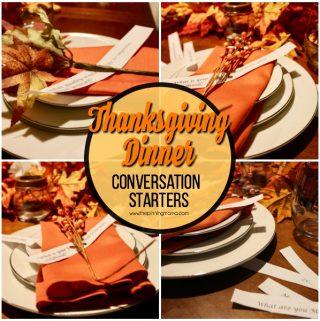 Thanksgiving Dinner Conversation Starters