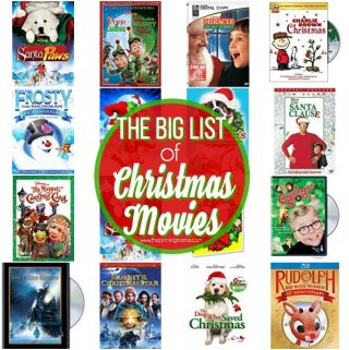 List of Christmas Movies for the Family