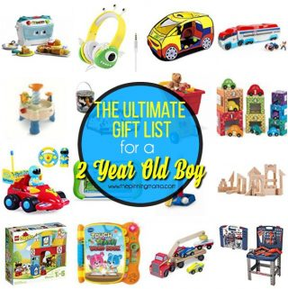 The Ultimate Gift List for a 2 year old Boy