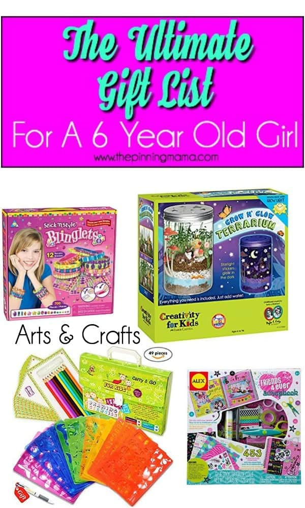 The Ultimate Gift List For A 6 Year Old Girl The Pinning Mama