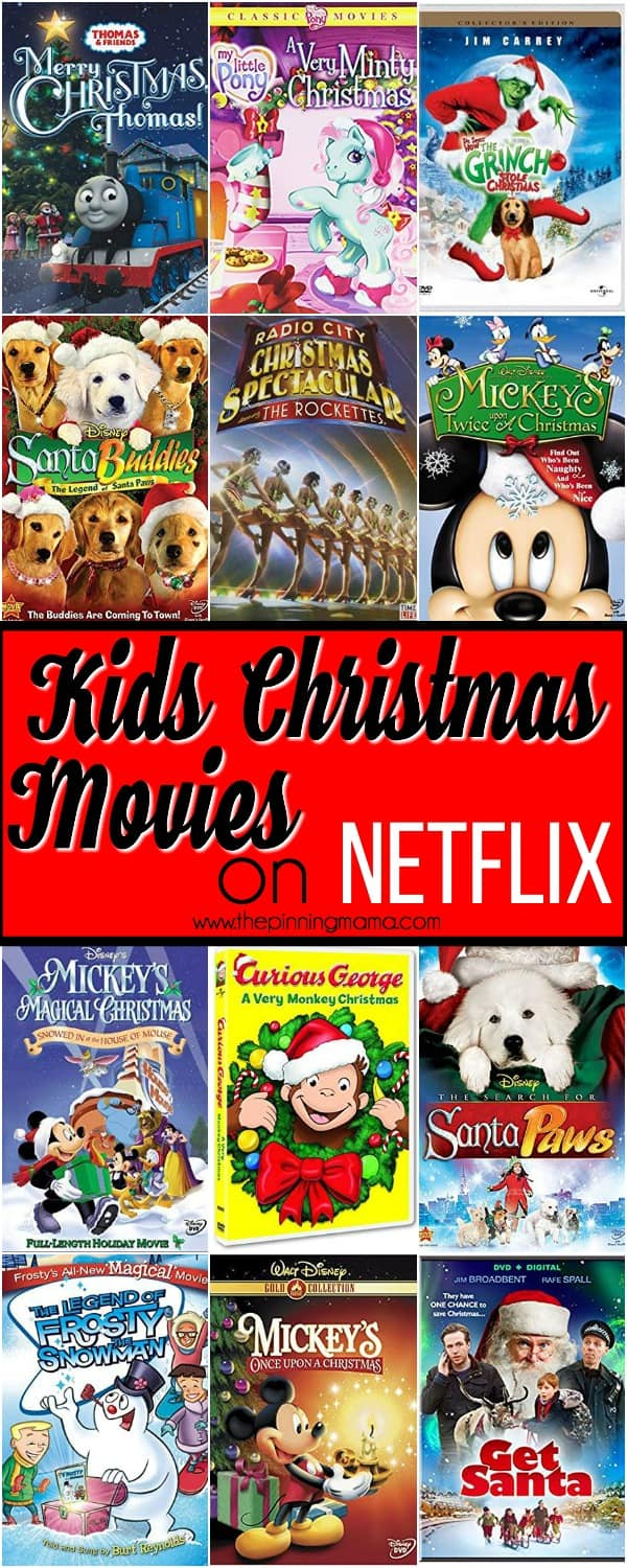 Christmas Movies on Netflix for Kids • The Pinning Mama