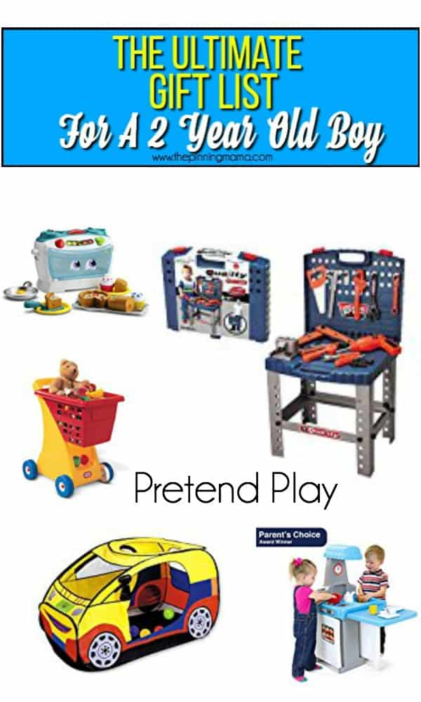 Ultimate Gift Guide Pretend Play For A 2 Year Old Boy