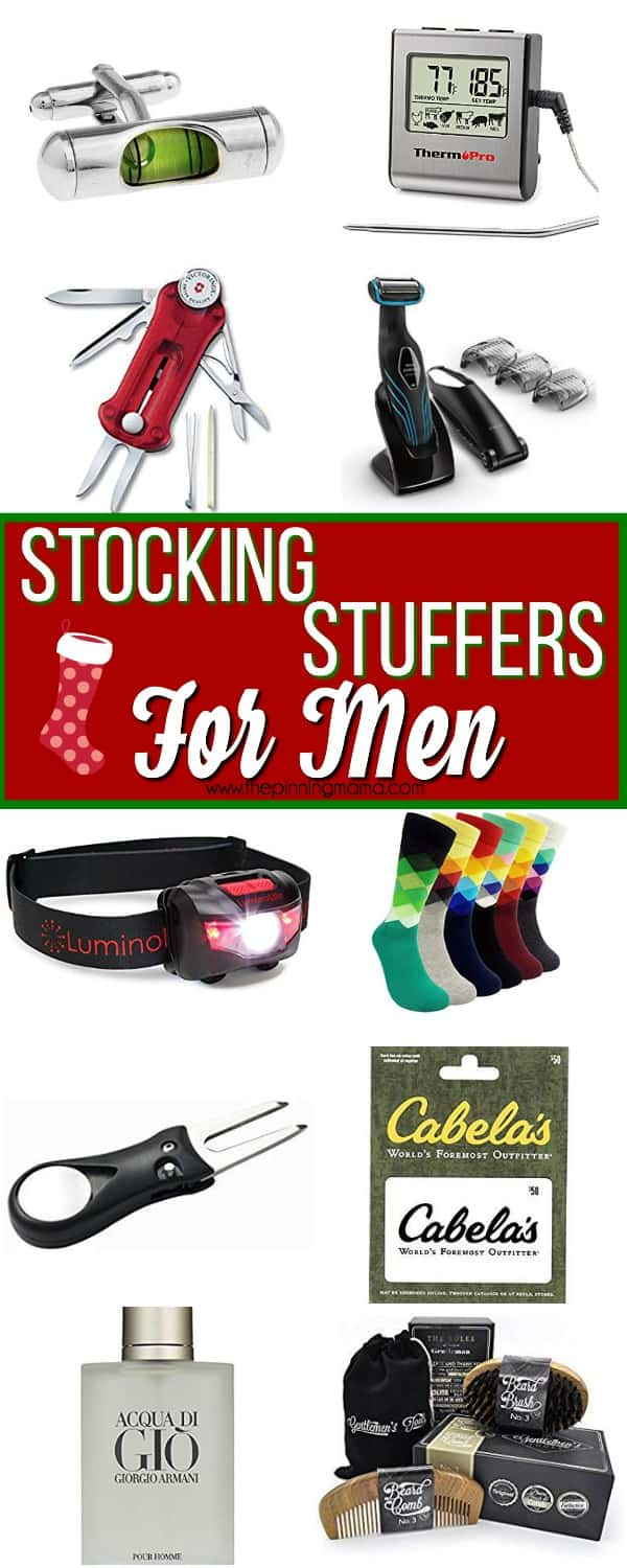 the big list of stocking stuffers for your man