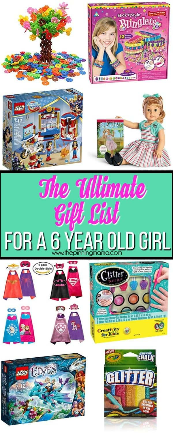 The Ultimate Gift List for a 6 year old Girl • The Pinning Mama