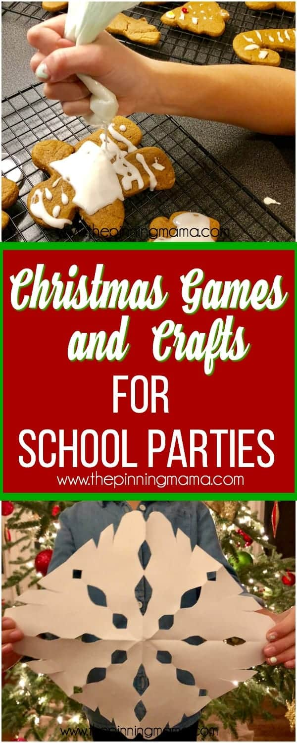 The Ultimate List of Christmas Games and Crafts for School Parties
