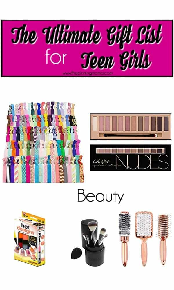 ultimate list of gift for teens in the focused on beauty and health