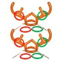 Inflatable Reindeer Antlers game for school parties