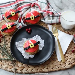 Easy Christmas Breakfast- Santa Claus Cinnamon Rolls