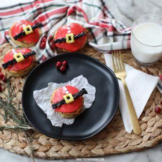 Cinnamon Roll Santa – Easy Christmas Breakfast Idea!