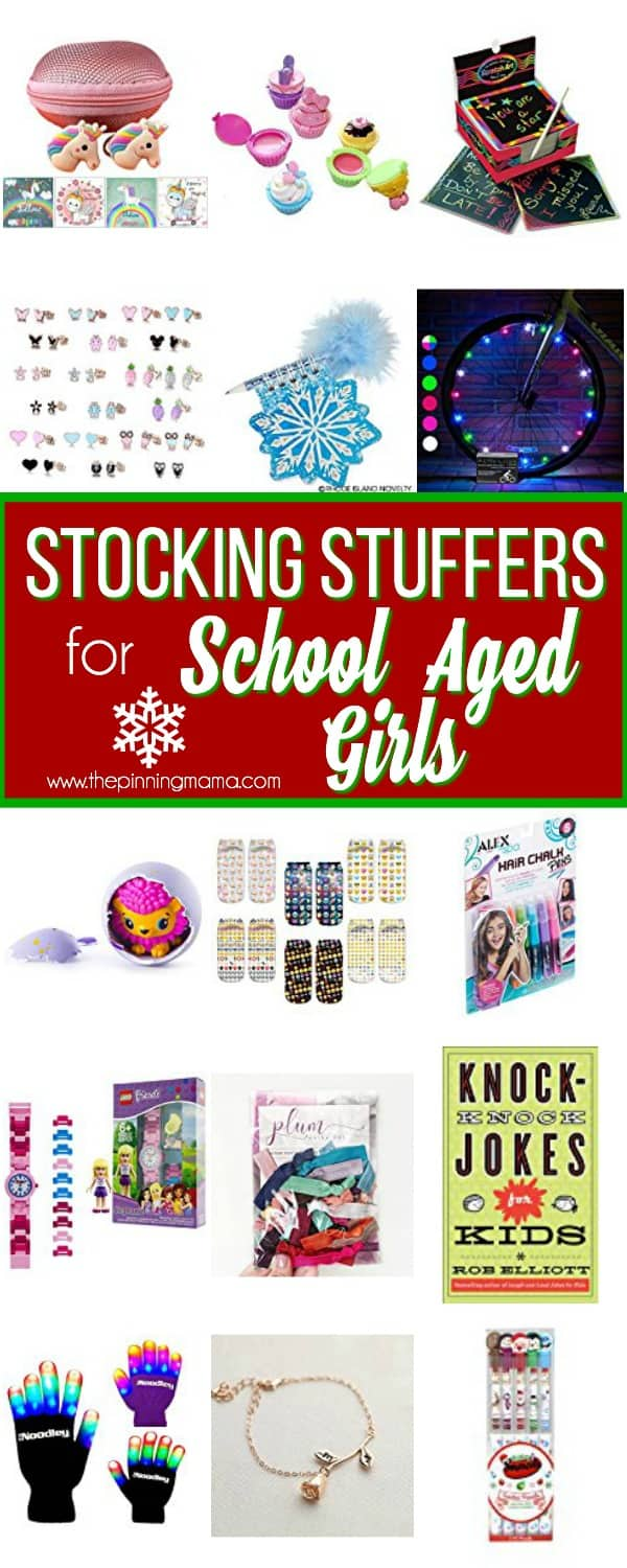 The Ultimate List of Stocking Stuffers for School Aged Girls