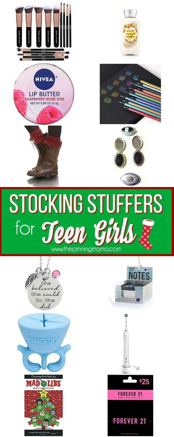 Ultimate List of Stocking Stuffers for Teen Girls