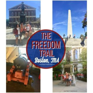 Things to do on The Freedom Trail in Boston with Kids