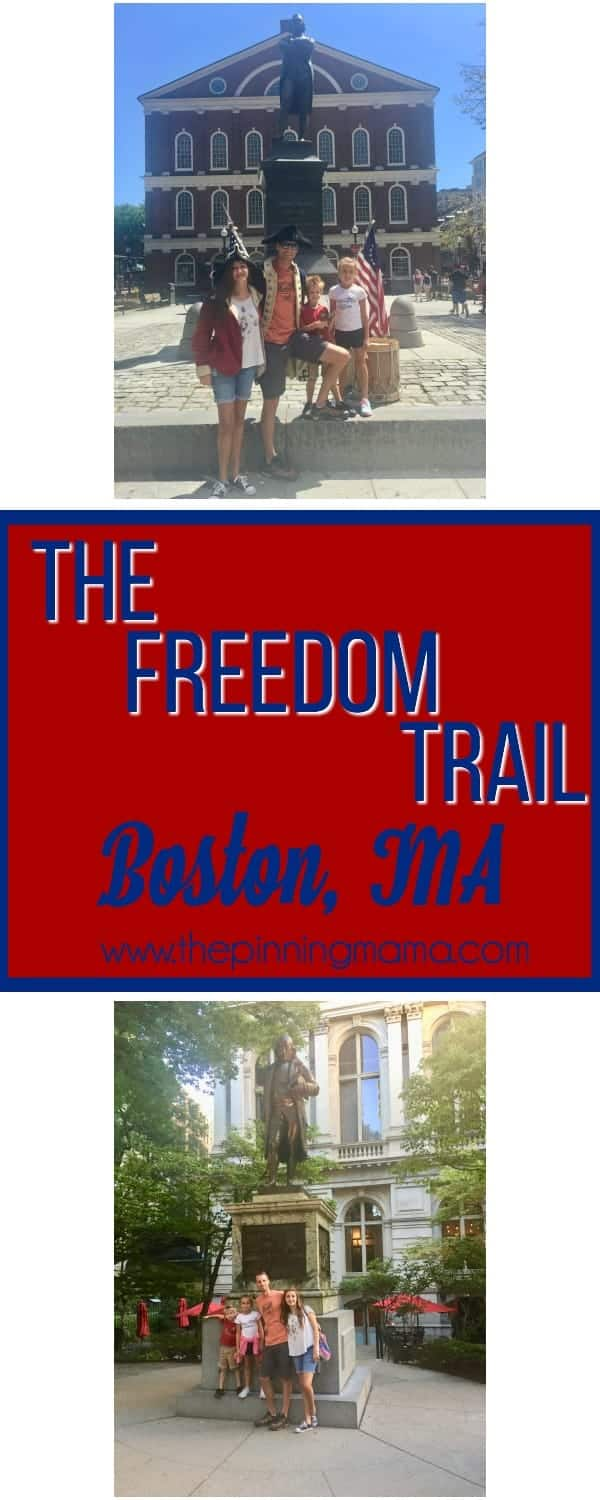 Your ultimate guide to walking the Freedom Trail in Boston MA
